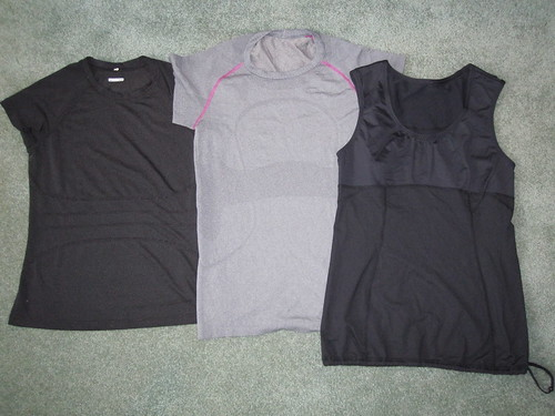 Technical fabric tops