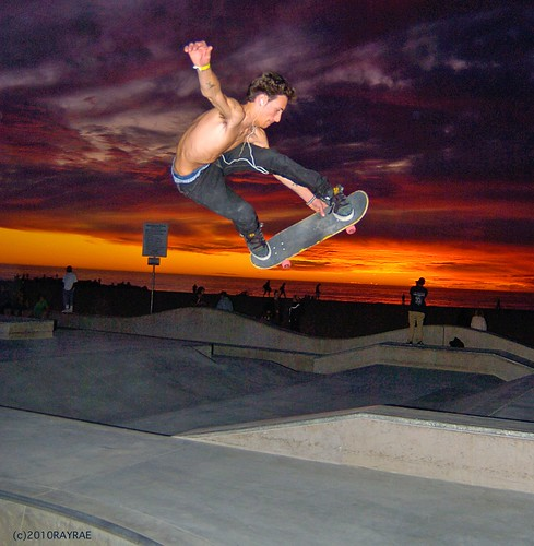 Venice Skate Park Picture of the Week 1.1.2010