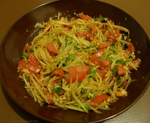 Raw Papaya Salad 2