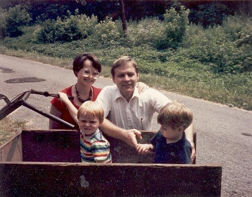 With Floyd's wagon