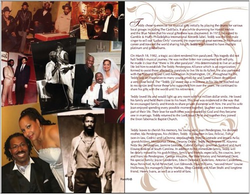 Teddy Pendergrass Program-3