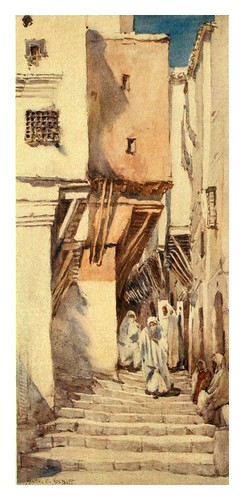 002-Una antigua calle en Arge-Algeria and Tunis (1906)-Frances E. Nesbittl