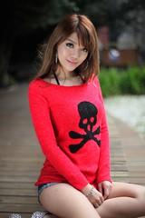@  1016 (^o^y) Tags: woman girl lady asian model taiwan showgirl ntu sg taiwanese