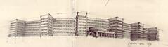 IG Farben (Flaf) Tags: 1920s pencil 1930s drawing frankfurt von hans moderne universität florian johann goethe wolfgang farben ig poelzig afflerbach