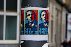 CAPTAIN PAP ARTIST (Leo Reynolds) Tags: canon eos sticker iso400 f71 105mm 0008sec 40d hpexif xleol30x
