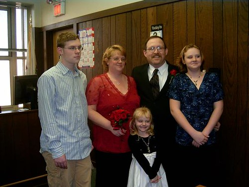 Family pic at our wedding