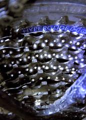 Cassette 2 (Peter Rea 13) Tags: mountain bike set chain cogs