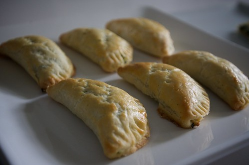 spinach feta pocket pies