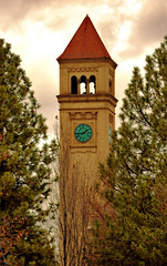 1:45 (twbphotos) Tags: park tower clock washington spokane downtown clocktower terrybell twbphotos dwntwnspokane
