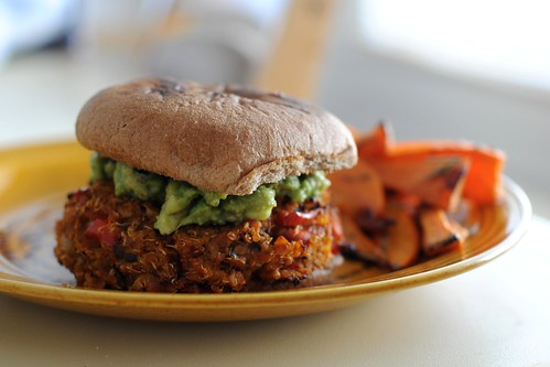 Tempeh Quinoa Burger