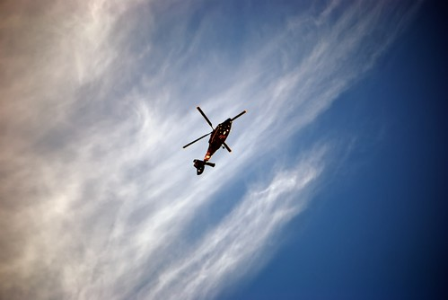 Helicopter Over Brookland