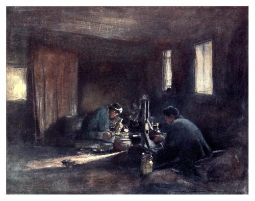 017-Trabajando el bronce-Japan  a record in color-1904- Mortimer Menpes