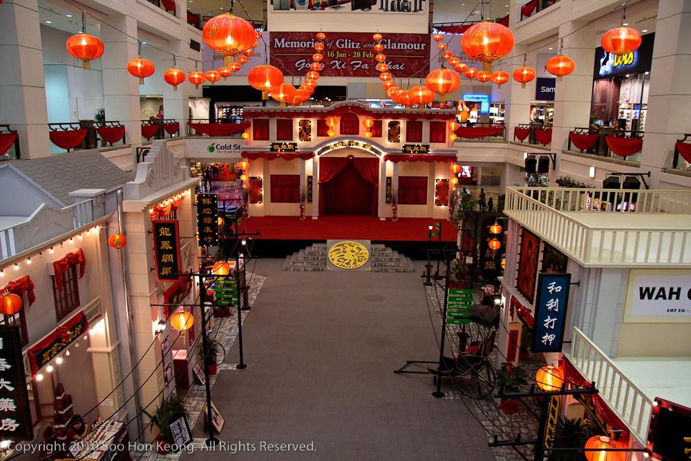 Chinese New Year Decoration @ Berjaya Times Square, KL, Malaysia
