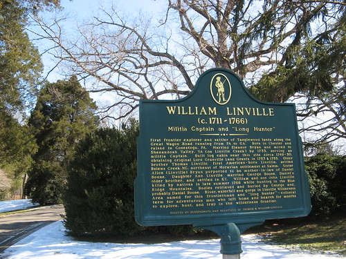 Plaque in honor of William Linville