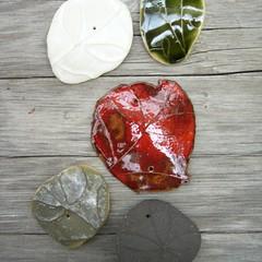 hangings bespoke mix (karin eriksson) Tags: ceramics karineriksson handthrown screenprintedceramicdecals collection2010 hangingsbespokemix