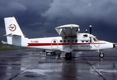 Cameroon Airlines DHC.6-300 TJ-CBC LBG 1975 (AlainDurand) Tags: paris de african aviation le airports airlines airliners havilland worldairlines airlinescameroonairlines canadatwinotter dhc6dhc6300twinotter tjcbclbg bourgetfrance