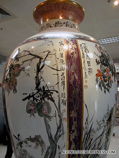 Another big ceramic vase
