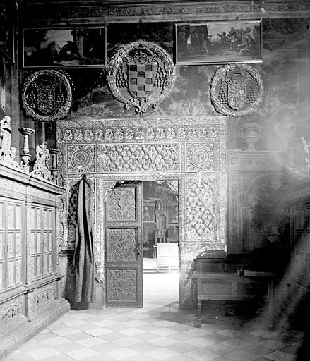 Catedral de Toledo en septiembre de 1907. Fotografía de Petit. Société Française d'Archéologie et Ministère de la Culture (France), Médiathèque de l'architecture et du patrimoine (archives photographiques) diffusion RMN