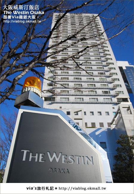 【via關西冬遊記】大阪住宿推薦~The Westin Osake大阪威斯汀飯店