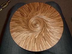 Zebrawood spiral