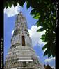 The Phra Prang In Wat Rakhang / เจดีย์วัดระฆัง (AmpamukA) Tags: travel sky green thailand temple pagoda bangkok thai wat bkk phra chedi the in prang กรุงเทพ วัด ไทย ฟ้า ท่องเที่ยว rakhang พระปรางค์ เขียว เจดีย์ ระฆัง ampamuka เจดีย์วัดระฆัง
