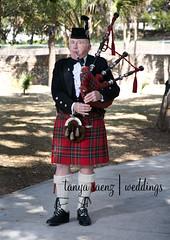 Wedding Bagpiper 1 (AikoNJesse) Tags: wedding bagpiper
