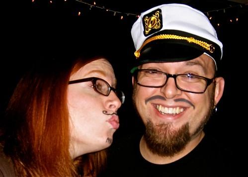 Me & David, Mustache Party