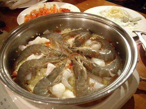 西式海鮮燉飯1~