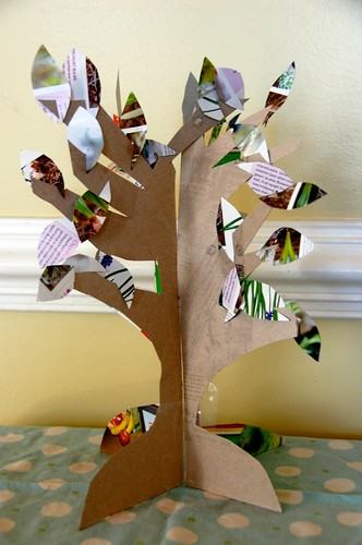 slotted easter tree