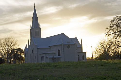 South Texas Church at Sunset 2