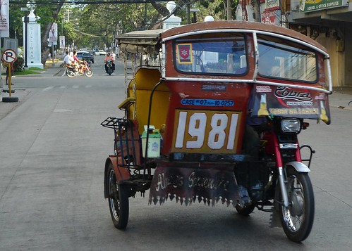 Trycycle in Dumaguete