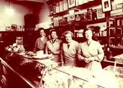 Image titled Baker's Shop, Westmuir St, Parkhead, 1961.