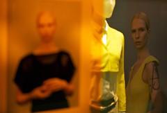 orange-yellow showcase (Winfried Veil) Tags: leica orange berlin window yellow 50mm veil fenster ad rangefinder schaufenster advertisement gelb werbung showcase schaufensterpuppe summilux asph winfried puppe 2010 m9 messsucher mobilew leicam9 winfriedveil stadtgetty2010