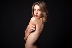 Natural beauty (Monimix) Tags: portrait woman girl beauty face look project nude model eyes emotion naturalbeauty