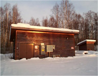 The Talkeetna, Alaska well house will soon get a new filtration system thanks to  USDA funding provided through the American Recovery and Reinvestment Act.