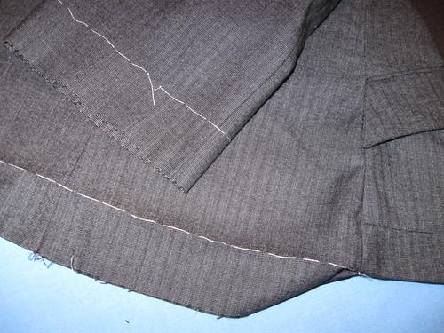 Rita jacket hem work