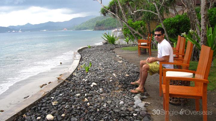 Beach on Alila Manggis