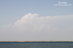 (Hind Abdulla) Tags: sea sky cloud