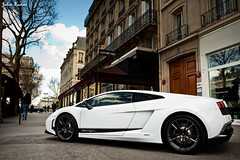 Lamborghini Gallardo LP570-4 Superleggera (Valkarth) Tags: white paris france car canon eos julien hp automobile europe italia 1st mark dream automotive voiture ii coche lp april l 5d usm julius avril lamborghini blanc italie mk cv reve ch gallardo 1er 2010 mkii markii lambo valk 2470mm superleggera 570 5d2 valkarth fautrat lp5704 xothum