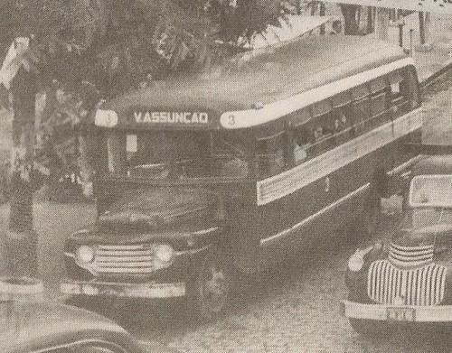 FOTO 5 - Jardineira da Empresa Auto ônibus Vila Assuno, em 1953.