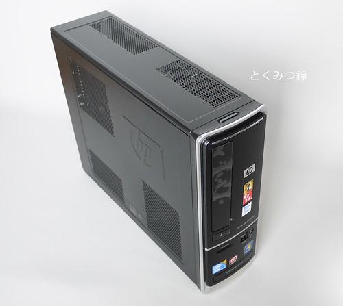 HP Pavilion Desktop PC s5350 春モデル