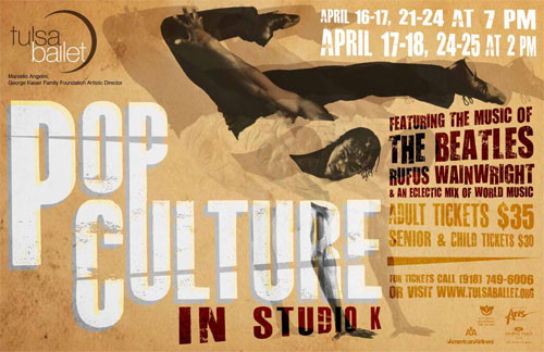 Pop Culture in Studio K, Tulsa Ballet