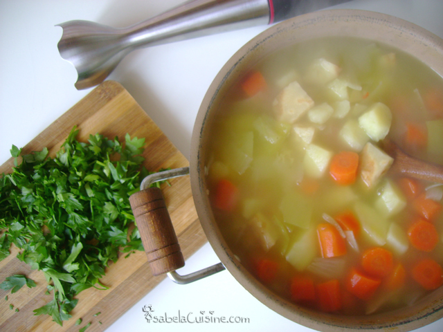 Vegetable soup-cream