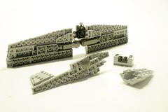 breakdown 2 (psiaki) Tags: airplane lego wwii north american mustang batmobile p51 moc