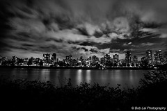 One (_Tawcan) Tags: water skyline vancouver clouds landscape cityscape nightshot dramatic structure nightsky drama cityatnight spacecenter nightexposure vanierpark 5photosaday hrmacmillanspacecenter