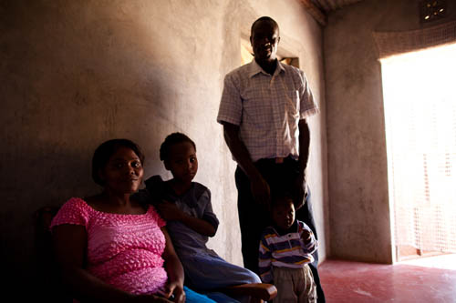 HIV-free son in Kenya