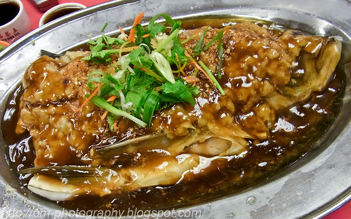 steamed soong yu in minced gingerR0011386 copy