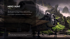 AHCH-TO HERO HUNT (inferno_captures) Tags: star wars battlefront concept art menu interface gamemode game mode force awakens last jedi 2 krennic photography