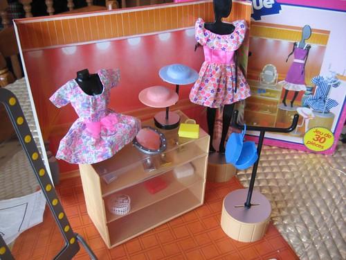 Fashion Shop w Box 1983 Sears for Barbie Sindy size Dolls