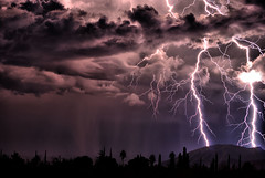 October Sky (Eye of the Storm Photography) Tags: night lightning cloudscapes impressedbeauty monsoonstorms flickrclassique cloudslightningstorms flickraward